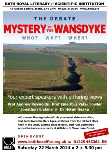 Wansdyke meeting 22nd March 2014