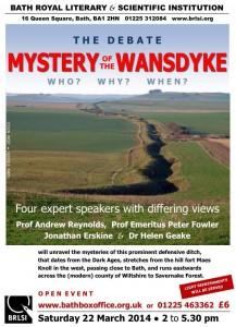 Wansdyke meeting 22nd March 2014