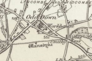 Map of the West Wansdyke